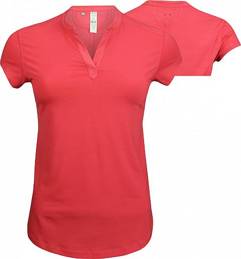 Under Armour Women's Threadbone Jacquard Golf Shirts