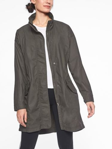 ATHLETA Organic Cotton Vista Jacket 210791 Athleta size S