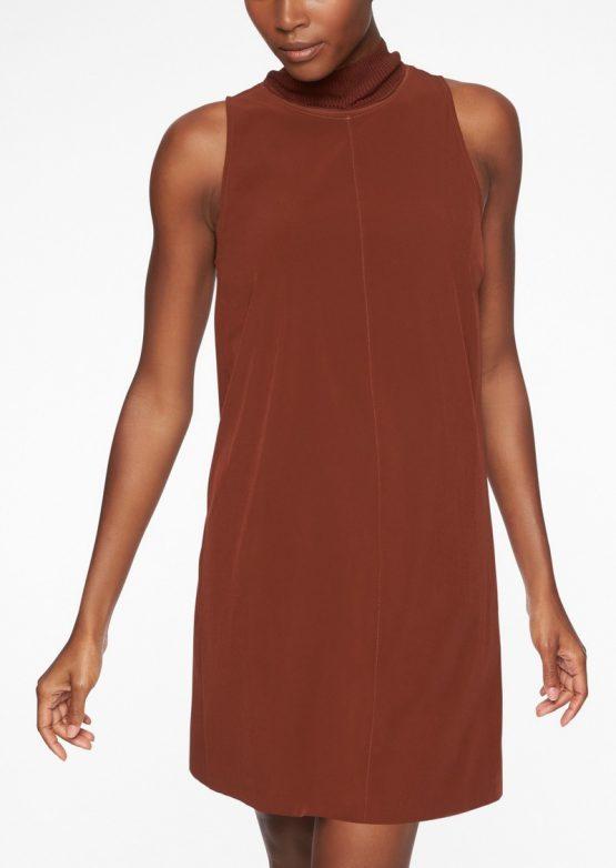 NEW Athleta Initiative Swing Black Dress 350973 Athleta Size M