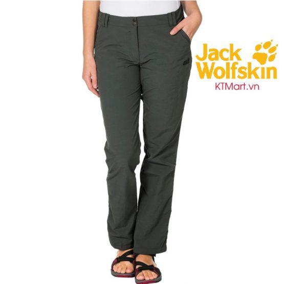 Jack Wolfskin Women's Kalahari Pants Greenish Grey 1503311 Jack Wolfskin size 27, 29.