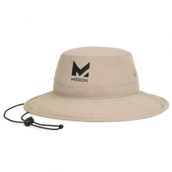 Mission HydroActive Cooling Bucket Hat Khaki Mission