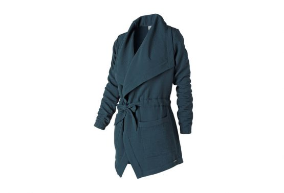 New Balance Women's Studio Tie Waist Jacket Size S
