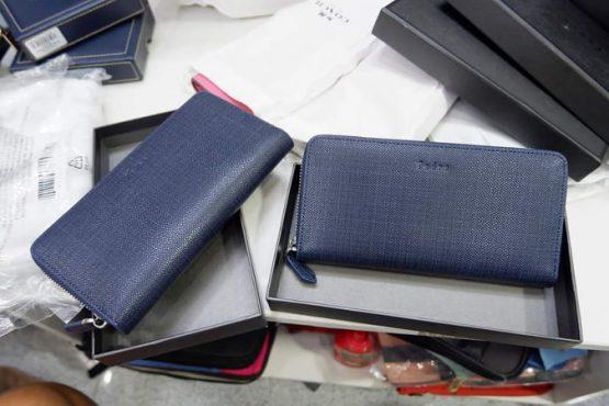 Pedro Long Wallet Blue