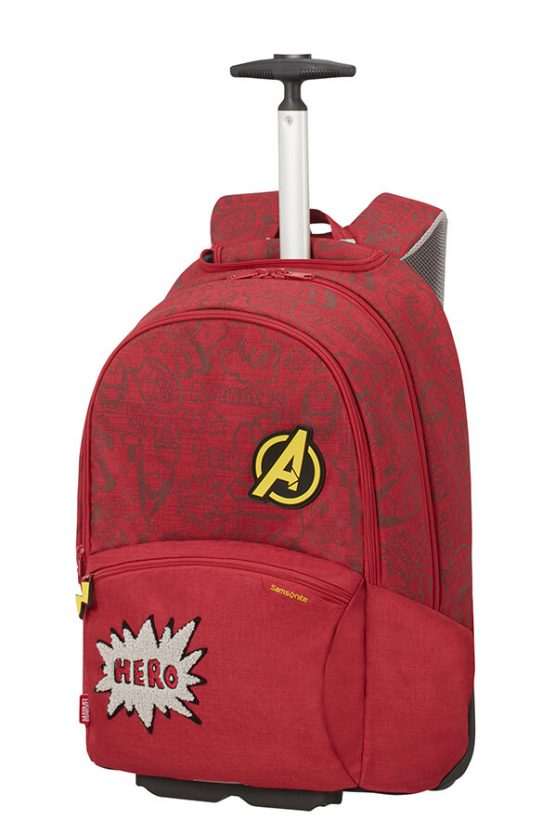 Samsonite Color Funtime School Trolley Avengers Doodles 124790 Samsonite