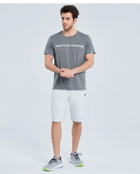 The North Face T-shirt men's quick-drying clothes outdoor sports moisture-absorbing breathable round neck short sleeve NF0A3V79 FN4 Size: M, L