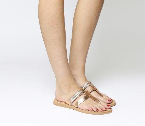 UGG Sandals AUDRA Rose Gold 1018580 UGG