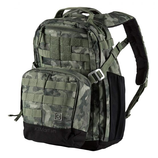 5.11 Tactical Mira 2 In 1 Backpack Bag 25L Duty Hiking Pack Moss Camo 56348 5.11