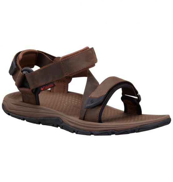 Columbia Men's Big Water Leather Sandal 1725321 Columbia BM1777 size 42