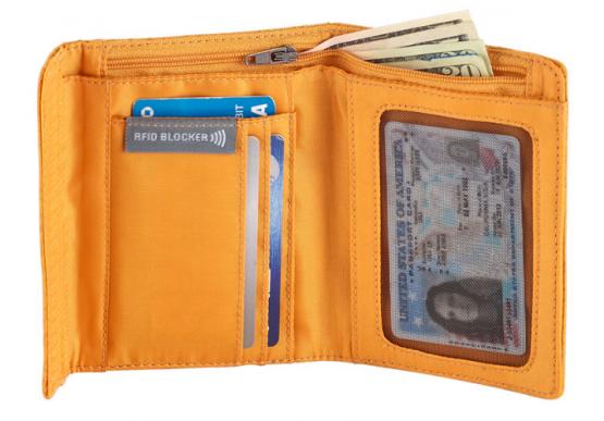 Eagle Creek RFID International Tri-Fold Wallet 0EC0A3SC2 Eagle Creek
