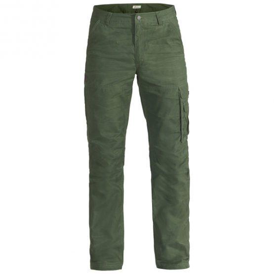 FRILUFTS RAZNAS PANTS Men's travel trousers black forest 48
