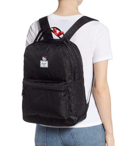Herschel Hello Kitty Nova Mid Volume Backpack 10503-03066 Herschel Black 18L