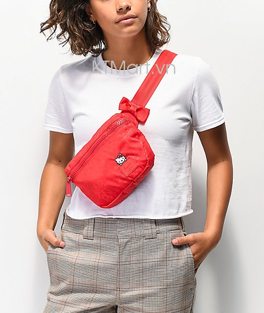 Herschel Supply Co. x Hello Kitty 45th Anniversary Fifteen Red Fanny Pack Herschel