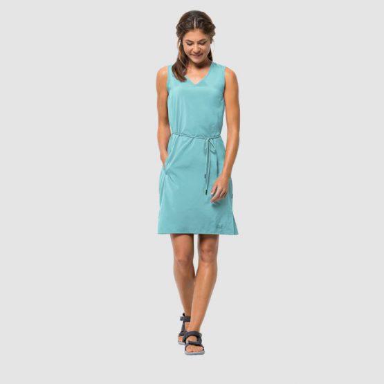 Jack Wolfskin Women's Tioga Road Dress Aqua 1504821 Jack Wolfskin size M