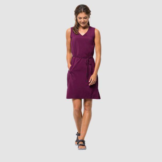 Jack Wolfskin Women's Tioga Road Dress Wild Berry 1504821 Jack Wolfskin size M