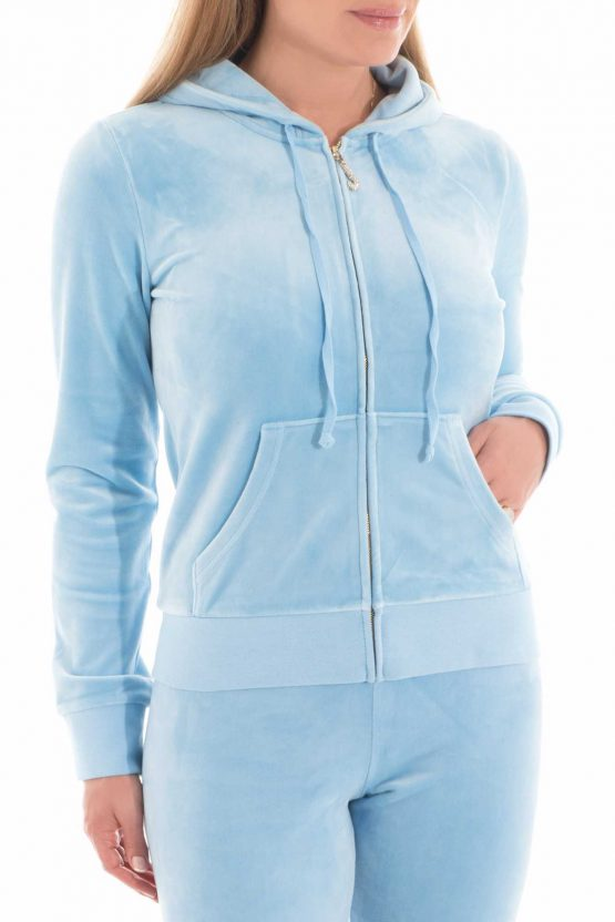 Juicy Couture Ultra Luxe Velour Robertson Jacket 191224 Juicy Couture size L