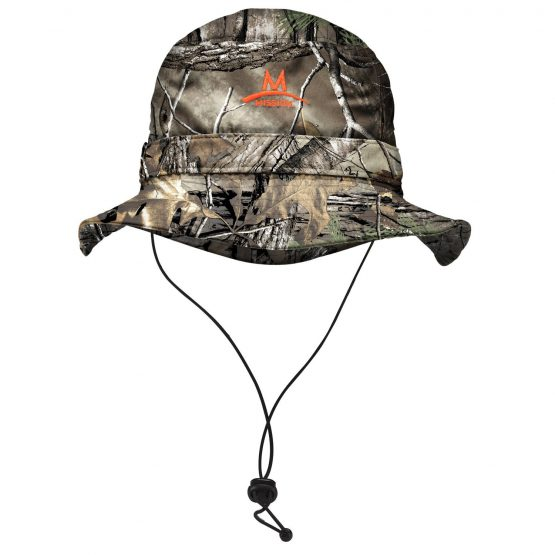 Mission Cooling Bucket Hat RealTree Camo UPF 50 One Size Men or Women
