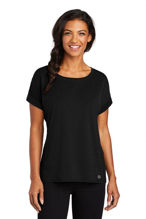 OGIO ® Ladies Luuma Cuffed Short Sleeve LOG800 OGIO size XS, S