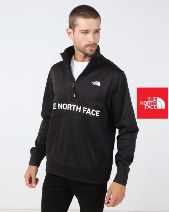 The North Face Men Train N Logo 1/4 Length With Zipper Polar NF0A3O13 The North Face size M