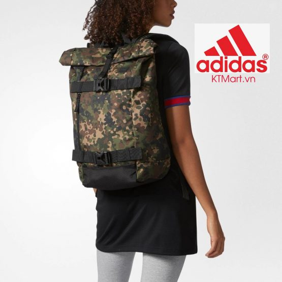 Adidas Originals AS Skateboard Backpack CI2678 Adidas CAMOUFLAGE