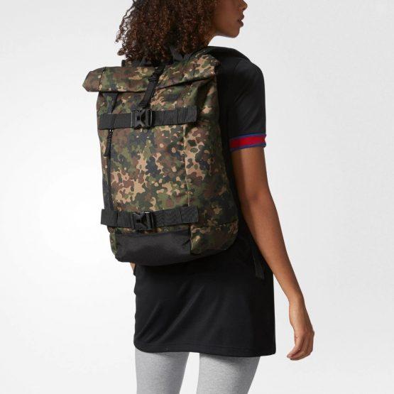 Adidas Originals AS Skateboard Backpack CI2678 Adidas CAMOUFLAGE