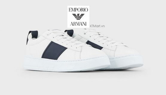 Emporio Armani Travel Essential Leather Sneakers X4X287XM0961A836 Emporio Armani size 40
