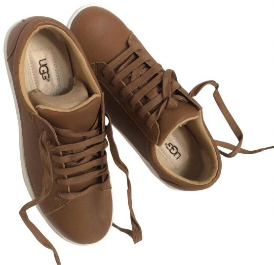 Ugg Australia Chestnut Karine Leather Sneakers ktmart size 39
