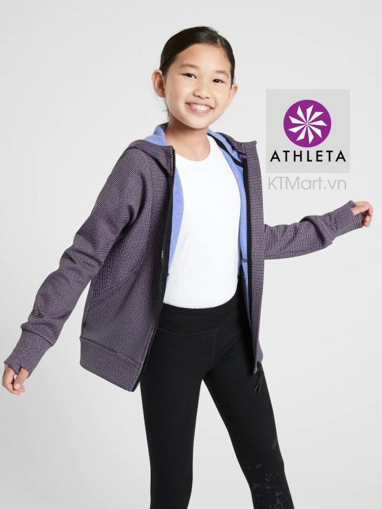 Athleta Girl Fearless Full Zip Jacket 486421 Athleta