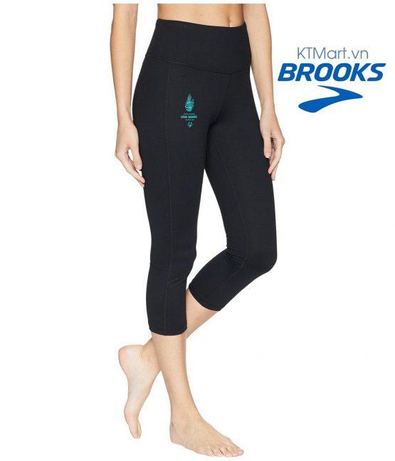Brook's Women's USA Games Greenlight Capri 221327 Brooks size XS (0-2)