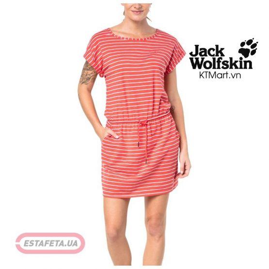 Jack Wolfskin Women's Travel Striped Dress 1504062 Jack Wolfskin size M