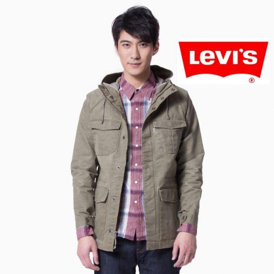 Levi's Men Slim Hooded Jacket 17494-0000 Levis size M