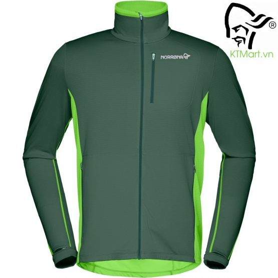 Norrøna Bitihorn Warm1 Stretch Jacket Men Bamboo Green 2614-18 Norrona size L