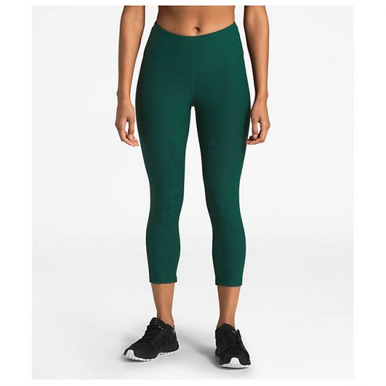 THE NORTH FACE WOMEN'S POWER FORM HIGH-RISE CROP size M