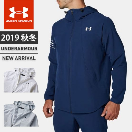 UNDER ARMOUR メンズ ウインドジャケット UA UNLINED WOVEN JACKET 1347232 Under Armour size L Asia