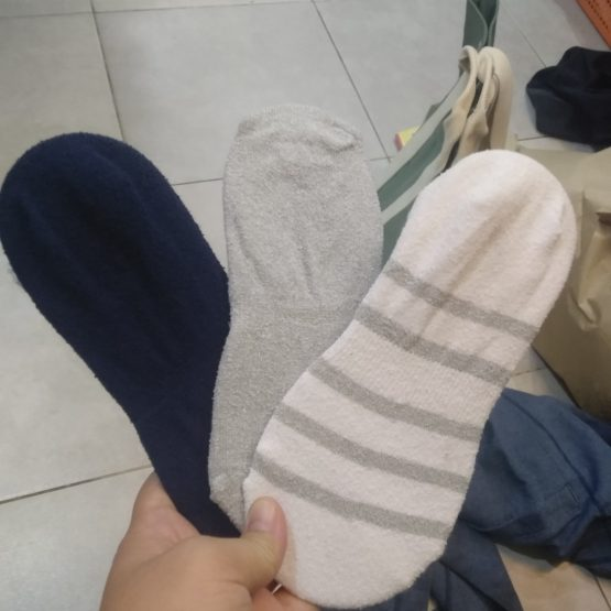 Uniqlo no show socks