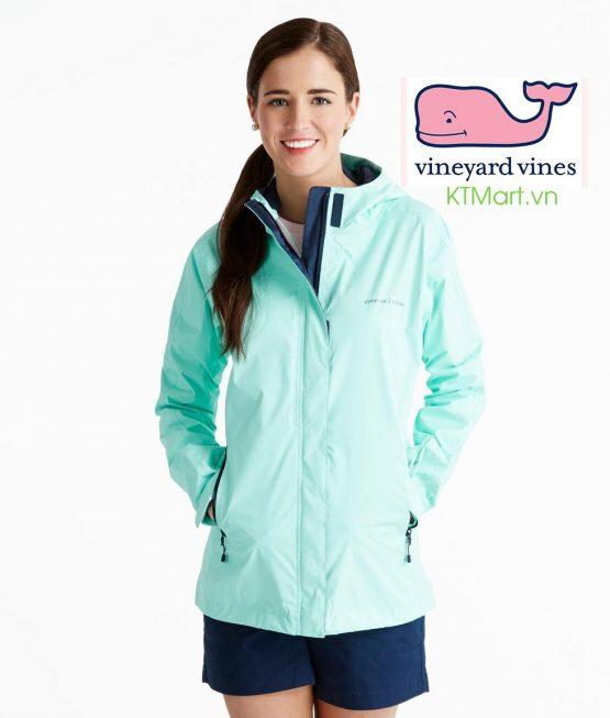 Áo khoác chống nước Vineyard Vines Hooded Raincoats size M