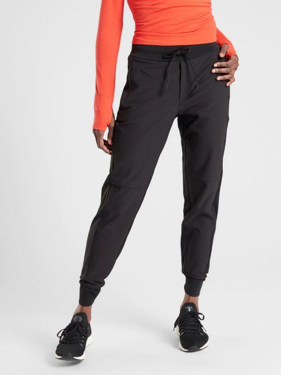 Athleta Headlands Hybrid Trek Jogger Pants Black size 2, 4, 8