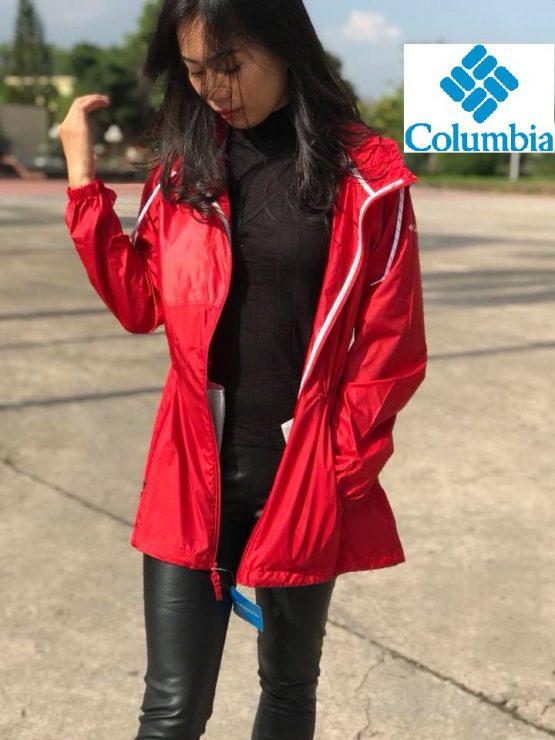 Women's Columbia Flashback Long Full-Zip Windbreaker Jacket C1992WO Columbia size S