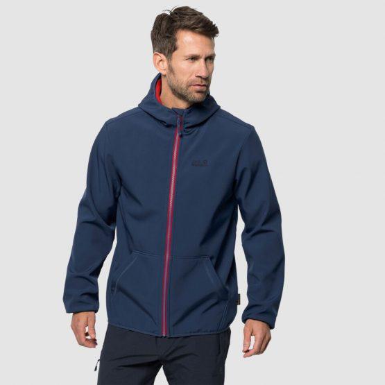 Jack Wolfskin Essential Peak Softshell Jacket Men 1305821 Jack Wolfskin size M US
