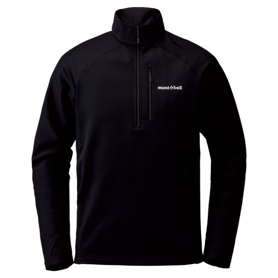 Montbell TRAIL ACTION PULLOVER MEN'S 1106632 Size S Black