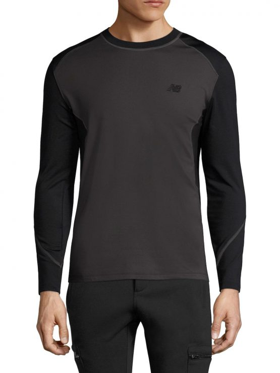 New Balance Men's Long Sleeve Cold Crew Top size L