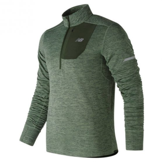 New Balance mt83246 NB Heat Quarter Zip Running Top – SS19 size M, L