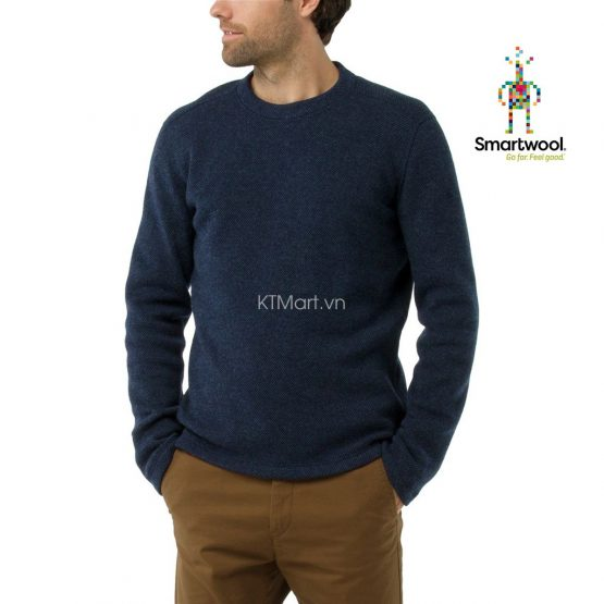 Smartwool Mens Hudson Trail Fleece Crew Sweater SW016215 Smartwool size S, M, L, XL