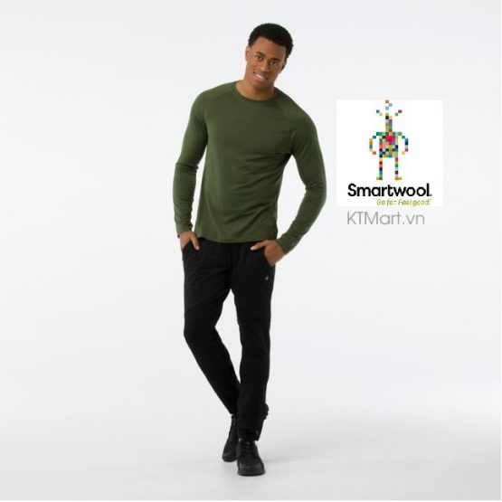 Áo lông cừu dài tay Smartwool Men's Merino 150 Base Layer Micro Stripe Long Sleeve SW016061 Smartwool