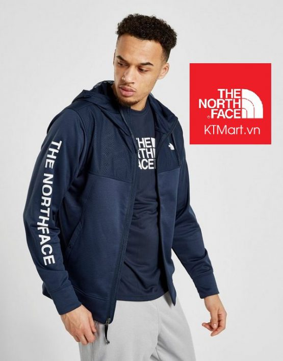 The North Face Men's Train N Logo Overlay Jacket NF0A3UXC The North Face size M