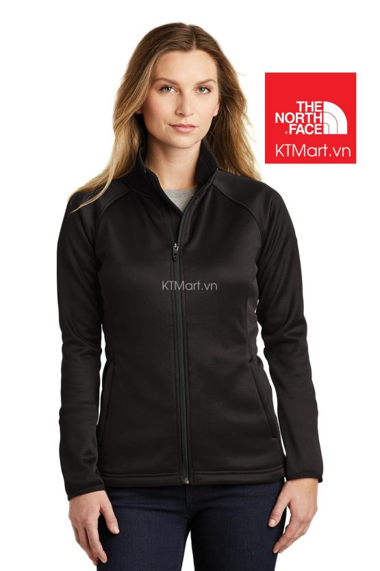 The North Face NF0A3LHA Ladies Canyon Flats Stretch Fleece Jacket Black size M