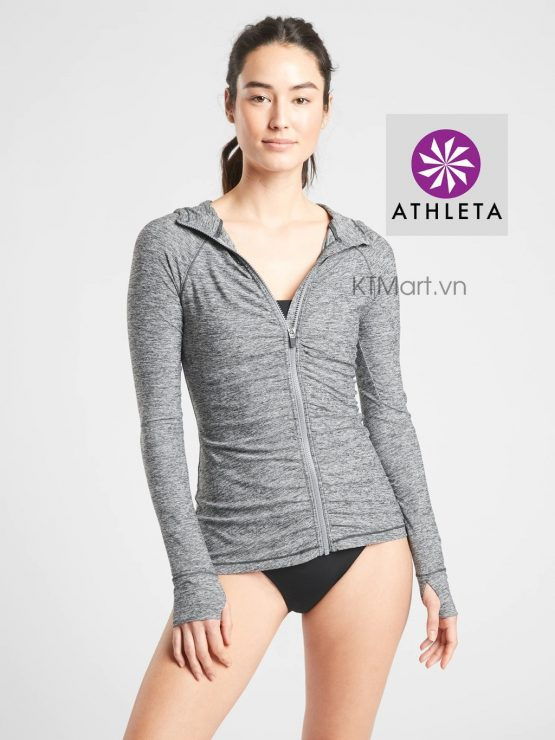 Athleta Crosscurrent UPF Jacket Heather 446799 Athleta size XS, S, M