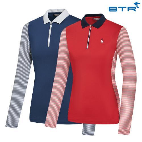 BTR VITIAL Women's Spring Collar T-Shirt IBA BQT0406W