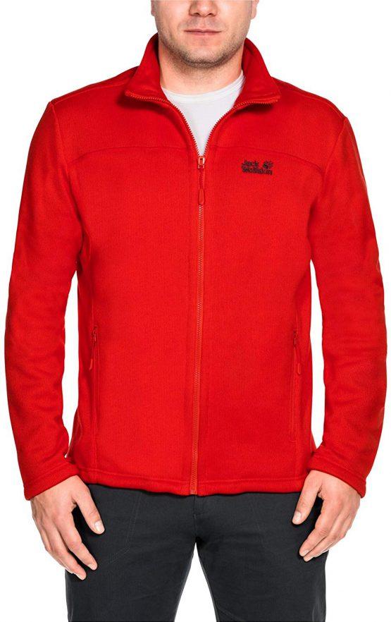 Jack Wolfskin 1704571 Men's Castle Rock Fleece Jacket size M