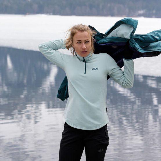 Jack Wolfskin ECHO WOMEN Fleece Jumper Women 1707282 size S