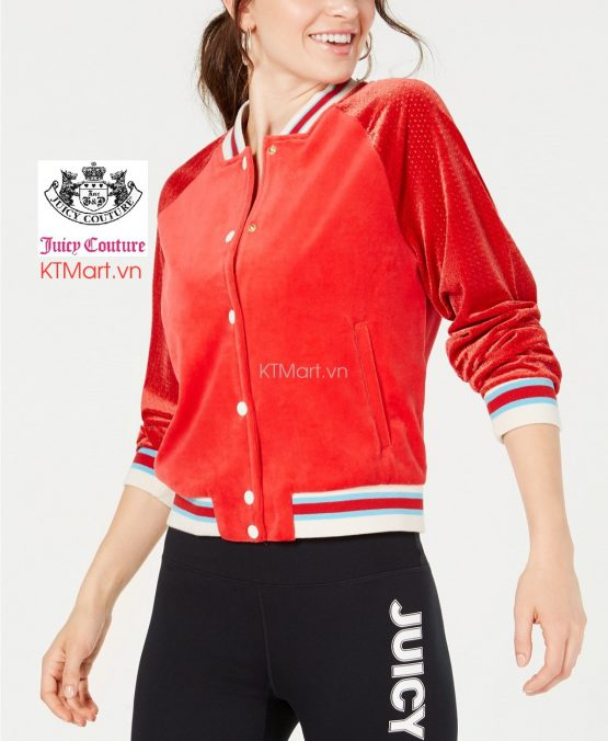 Juicy Couture Graphic Bomber Jacket WTKJ215676 Juicy Couture size S